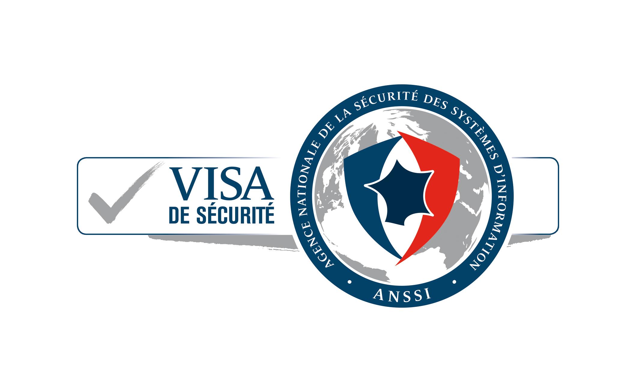 Logo du visa de sécurité de l'ANSSI
