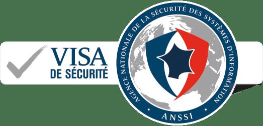 Logo Visa de sécurité ANSSI