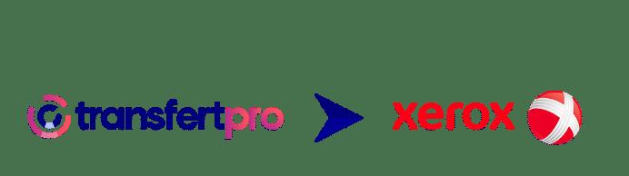 Logo TransfertPro avec Xerox