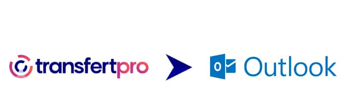 Logo transfertPro et Outlook