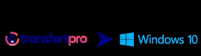 Logo avec transfertPro et Outlook